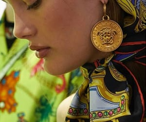 gold, model, and jewelry image