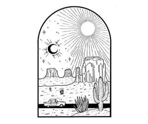 art, artist, and cactus image