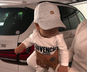 baby, Givenchy, and car image