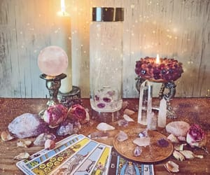 crystals, tarot, and wicca image