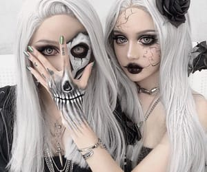 goth, makeup, and kina shen image