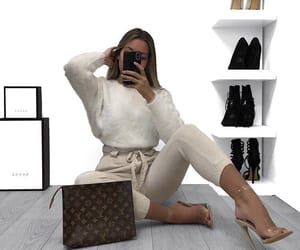 phone, clothes-fashion-ootd, and bag-louis vuitton image