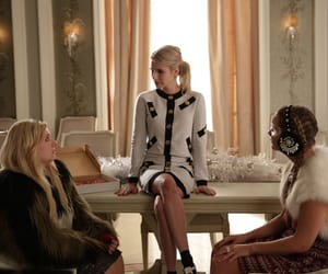 emma roberts, scream queens, and abigail breslin image