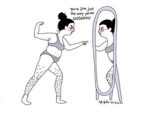 mirror, proud, and body positiv image