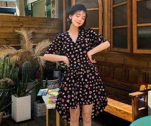 dress, cute, and kfashion image