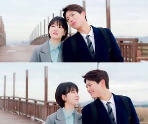 boyfriend, korean actress, and korean actor image