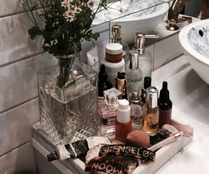 bath, cosmetics, and beauty image
