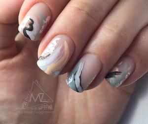 abstract, nails, and summer image