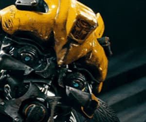 gif, transformers, and bumblebee image