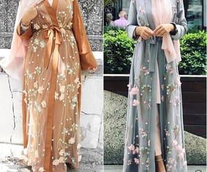 abaya hijab style and ramadan hijab style image