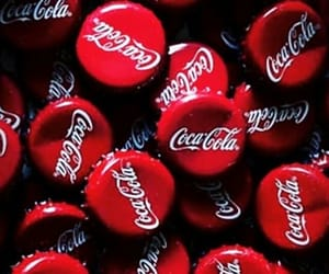 wallpaper, red, and coca cola image