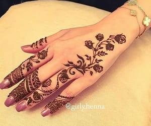 designs, eid, and henna image