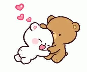 bears, heart, and cute image