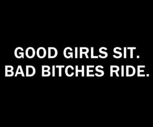 girl, bitch, and quotes image