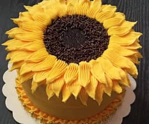 food and sunflowers image