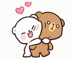 bears, cute, and gif image