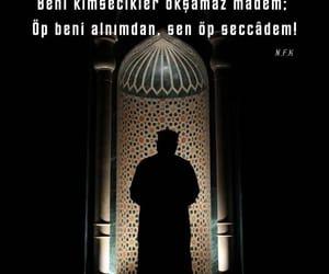 allah, muslim, and pray image
