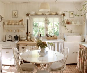 beautiful, simple, and kitchen image