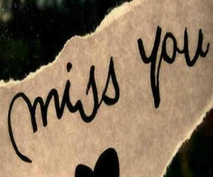 miss, miss you, and sad image