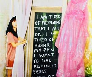 alone, art, and depression image