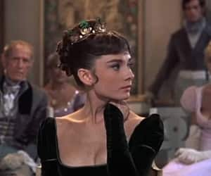 audrey hepburn, Queen, and vintage image