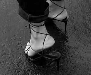 fashion, saint laurent, and heels image