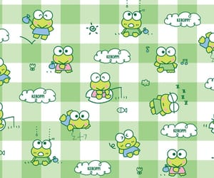 frog, keroppi, and sanrio image