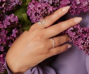 flower, jewelry, and adrienne bailon image