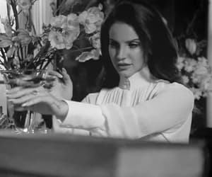 aesthetic, lana del rey, and black and white image