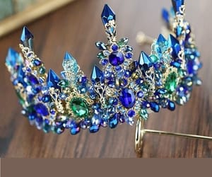 beautiful, beauty, and crown image