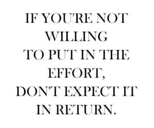 life, effort, and true image