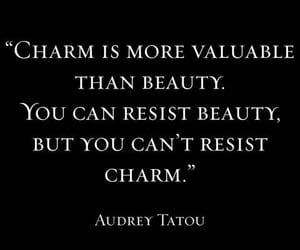 quotes, charm, and beauty image