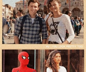 aesthetic, spider-man, and spiderman image