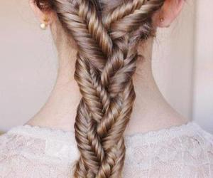 awesome, braid, and cool image