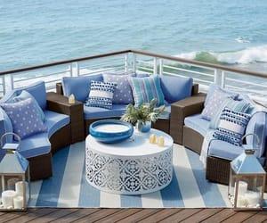 blue, interior decorate, and decor image