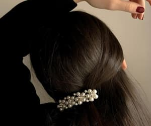 fashion, hair clip, and hairstyle image
