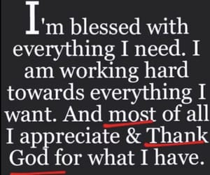 blessed, blessing, and quotes image
