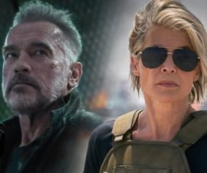 Arnold Schwarzenegger and terminator: dark fate image