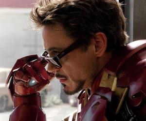 Marvel, robert downey jr, and tony stark image