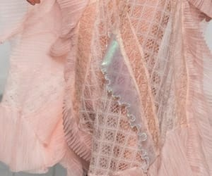 Couture, peach, and runway image