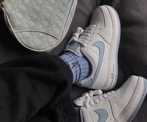 nike, blue, and dior image