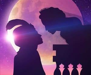 aladdin, jasmine, and love image