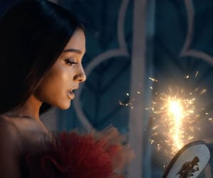 ariana grande, beauty and the beast, and dangerous woman image