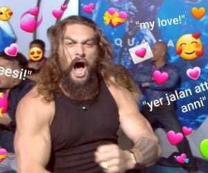 heart, game of thrones, and jason momoa image
