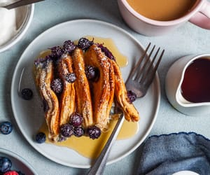 breakfast, food, and sweets image