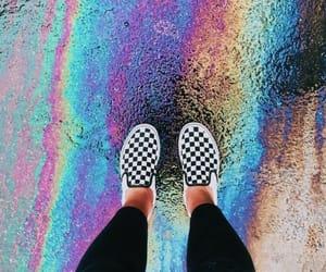 aesthetic, beautiful, and rainbow image