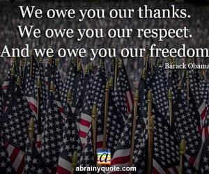 barack obama, thanks, and freedom image