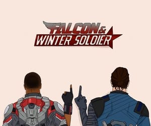 falcon, winter soldier, and bucky barnes image