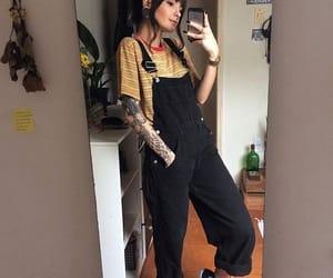 style, fashion, and tattoo image
