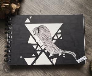 art, dreieck, and diy image